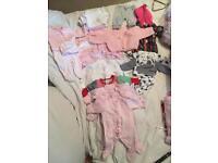Baby girl clothes bundle premature