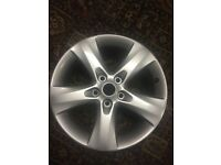 "Astra SRI 17"" alloy wheel"