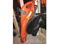 Flymo leaf blower and vacuum