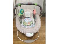 Baby chair bounce and vibrate