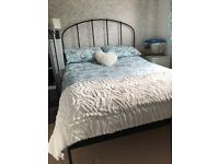Metal Framed Double Bed,