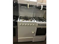 55CM WHITE LESUIRE EYE LEVEL GAS COOKER
