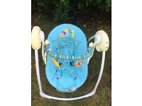 Bright Starts baby rocker - good price for a quick sale