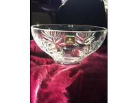Royal Doulton Keswick, crystal fruit bowl