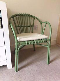 Ikea Holmsel armchair and cushion