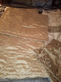 Bedding and curtains