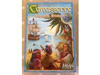 Carcassonne South Seas board game.