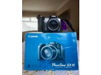 Canon PowerShot S3 IS 6.0 megapixels Digital Camera