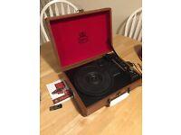 GPO Attaché record player compact turntable