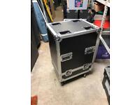 Moving head single flight case