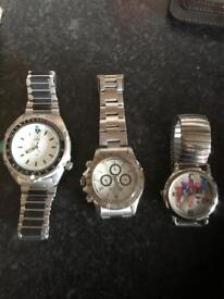 Old watches and lighters
