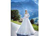 Luxury wedding derss