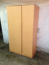 large wardrobe IKEA wardrobe good condition like new only £50