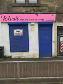 shop to rent station road shotts