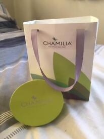 Chamilia bracelet and charm