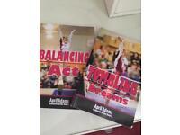 2 gymnastics books by April Adams