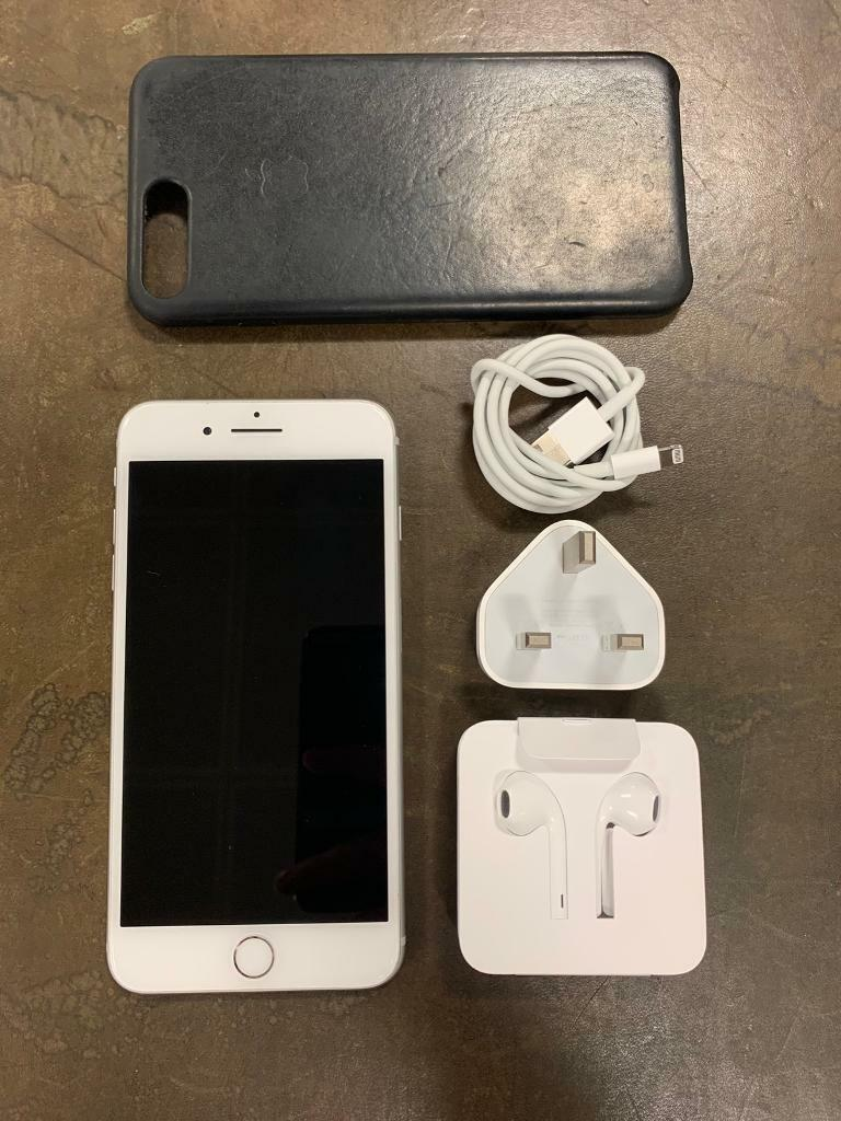 buy popular b6363 9a940 iPhone 7 Plus 128GB UNLOCKED + New EarPods + Apple Leather Case | in West  End, London | Gumtree