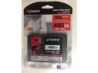 """KINGSTON 480GB SSD 300 V 2.5"""" sata REV 3.0 (6GB/s) (BRAND NEW SEALED ITEM)"""