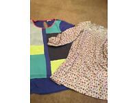 2 x long girls tops (next) age 9-10
