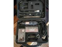 Rotary tool drill precision etching carving drilling set o.n.o