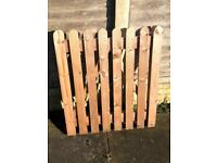Solid Wood Garden Gate, Heavy Construction