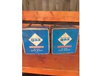 2 x Camping Stoves in Tins