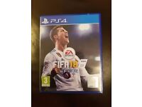 Fifa 18 PS4 only used twice