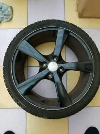 Alloy wheels with tyres - Ford fiesta 2009+