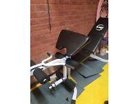 Multi purpose gym bench. Brand new.