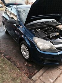2006 VAUXHALL ASTRA 1.4 FIVE DOOR 1YEAR M.O.T. AND SERVICE