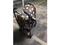 Cossato pushchair buggy