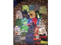 Boys 3-4 yrs long sleeved tops, shirts, and hooded tops