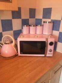 Baby pink kitchen bundle