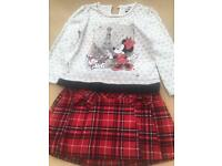 Mini mouse outfit 2-3 like new £2