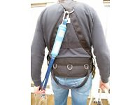Safety Equipment-Harnesses x2,T-Pak Double Lanyard,Position Lanyard x2,Strop,Railok Safety Mechanism