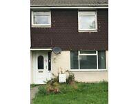 Weston-super-Mare, Oldmixon, 3 bed house unfurnished. GCH