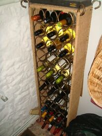Unique and Different Wine Rack holding 36 Bottles