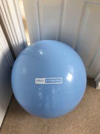 Pro fitness 65cm gym ball