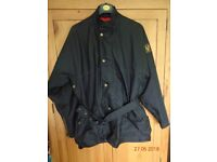 Belstaff Trial Master Two Fifty Black Mens Jacket Size M-L