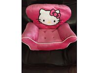 Hello kitty builds bear chair
