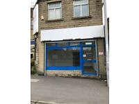 SHOP TO LET - MANCHESTER RD, BD5 7LR - AUTO SHUTTERS - STORAGE AREAS - RECENTLY REFURBISHED