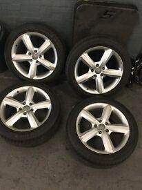 Audi Q7 S line wheels