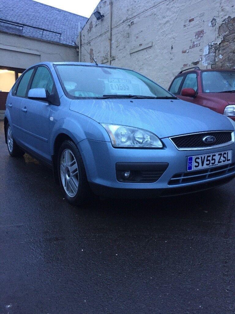 Ford Focus Ghia 1.6 Petrol, Multi Cd Player, Electric Windows - Mirrors - Kirkcaldy