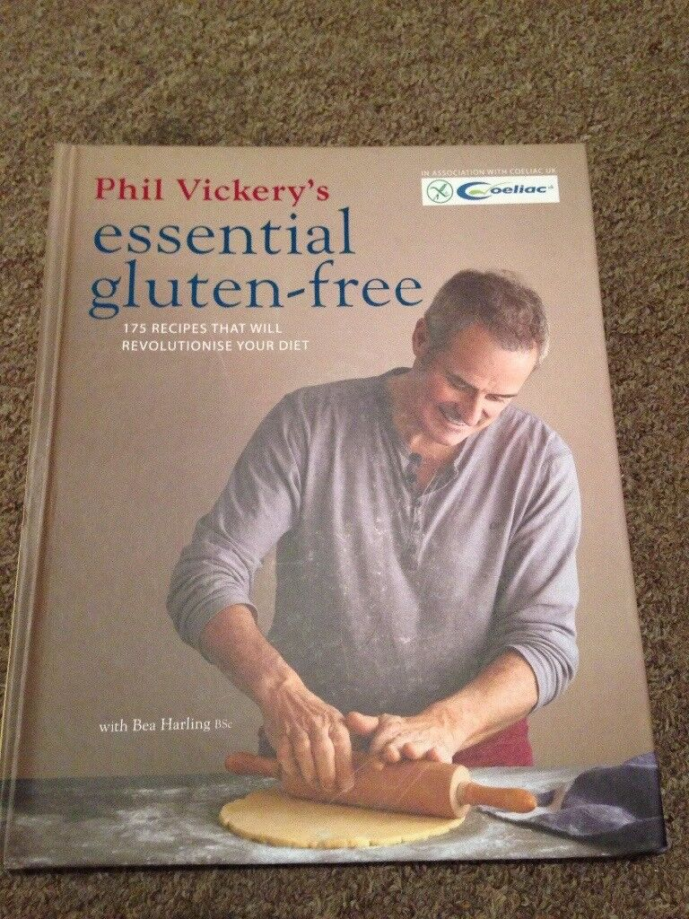 Book by Phil Vickery Gluten Free