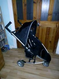 Bruin Zia small fold stroller with extras