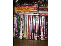 Job lot of DVDs - over 100 ideal for collector or car boot!