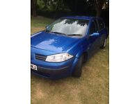 Renault megane 1.4 , low mileage,bargain,ok condition,long mot.