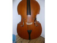 3/4 double bass ideal for beginners