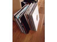 Vinyl Record Collection (60 records, Techno/House/Minimal)