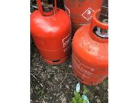 CALOR GAS BOTTLES x2